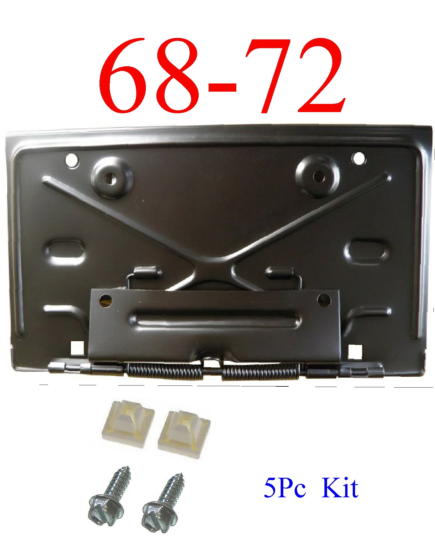 68-72 Rear Fold Down License Plate Bracket